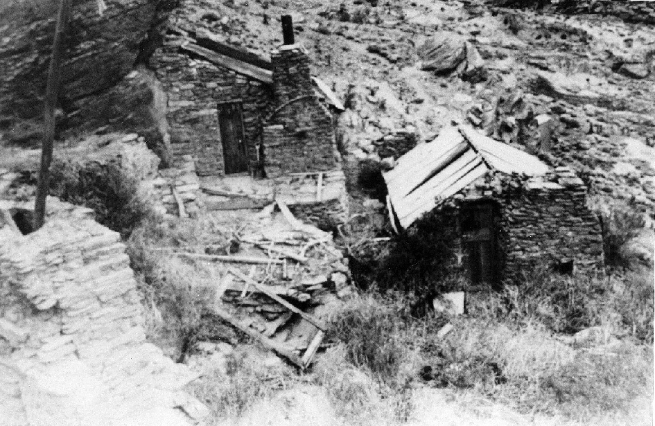 Old Miners Hut Doctors Point Roxburgh Gorge